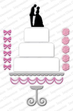 Bride And Groom Cutting Cake Images