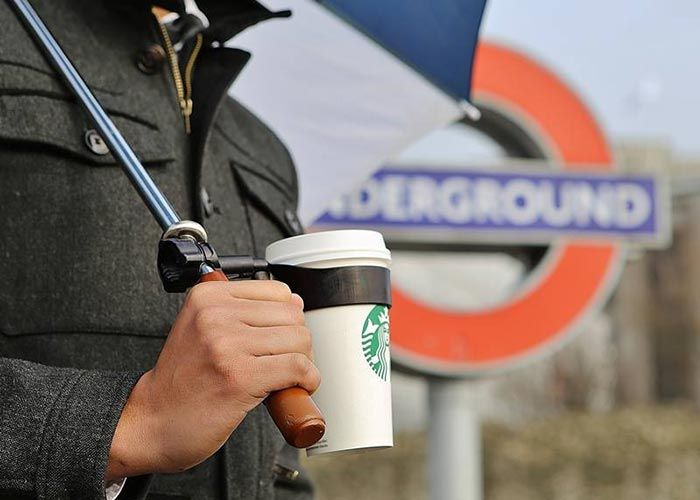 PHUNRISE - Clever Umbrella Cup Holder
