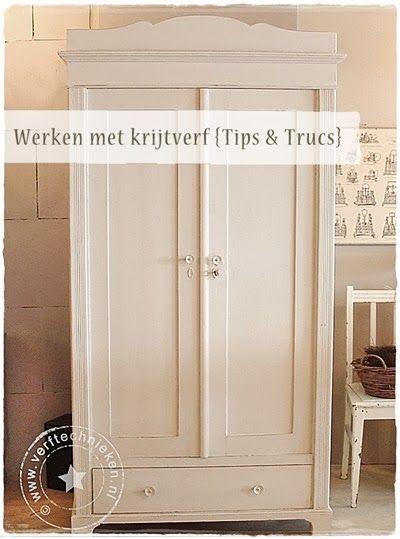 17 beste idee n over oude meubels schilderen op pinterest verf slaapkamermeubilair oude - Meubels om zelf te schilderen zelfs ...