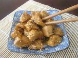 Pechugas de pollo con sésamo y miel