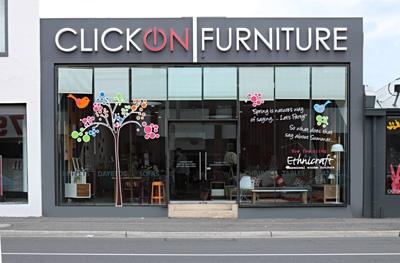 Great furniture shop in Fitzroy, Melbourne.