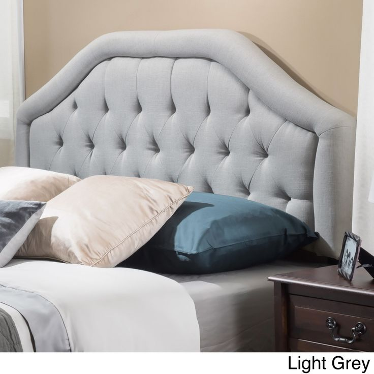 1000+ Ideas About Grey Tufted Headboard On Pinterest