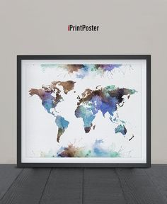 Best World Map Poster Ideas On Pinterest Maps Posters World - Faded poster maps for sale us