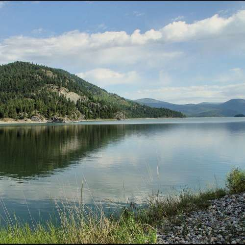 Salmon Lake State Park Campground, Seeley Lake, MT photo