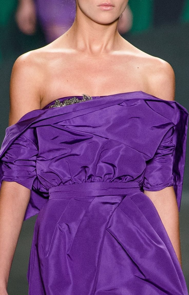 The 78 best Purple Fashion images on Pinterest | Bridal gowns ...