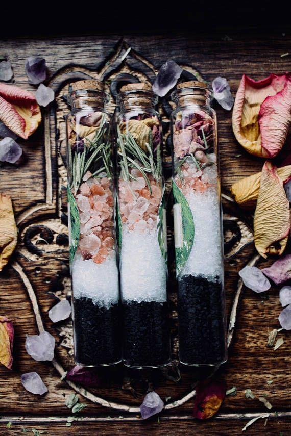 Grounding Healing and Protective Bath Salts