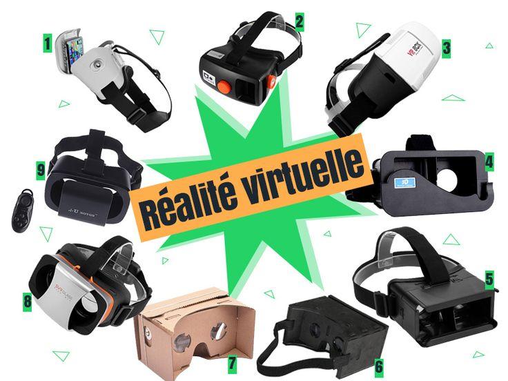 Bons plans sur les lunettes de réalité virtuelle #codepromo #Eachbuyer #FocalPrice #Gearbest #Miniinthebox #Tmart #TomTop