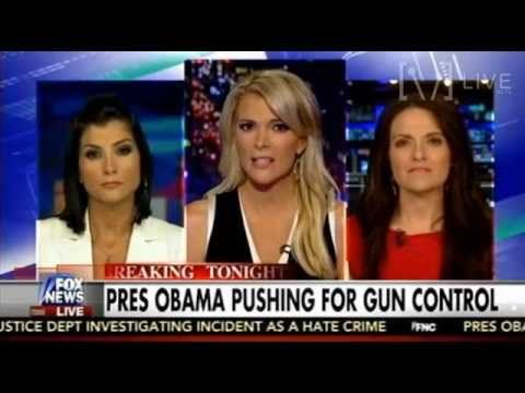 Dana Loesch & Some Lib Chick Debate Gun Control - The Kelly File - YouTube