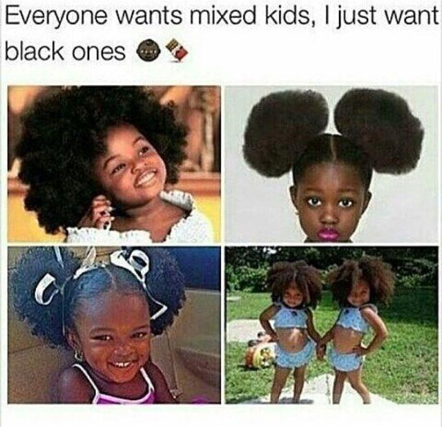 Natural Hair Black Babies