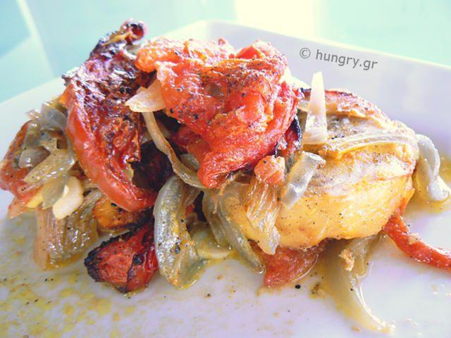 Ψάρι Πλακί στο Φούρνο