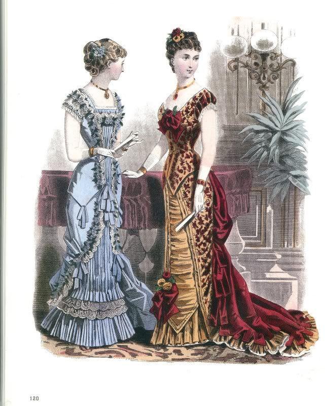 Fashion plate, ca 1880