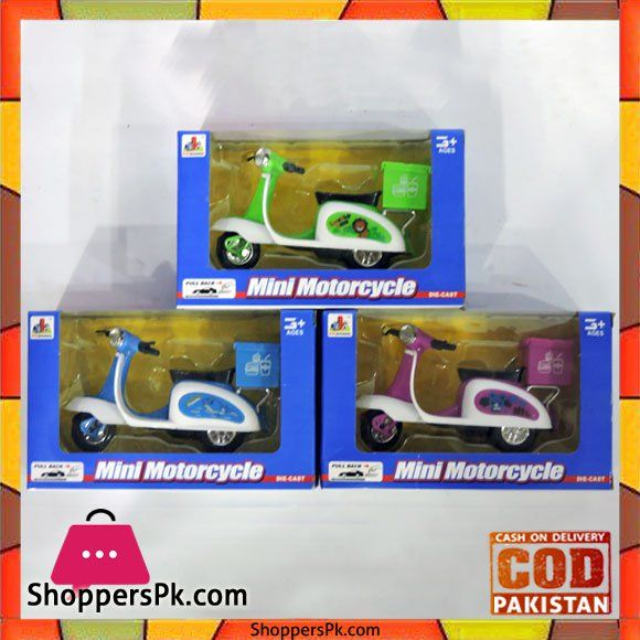 On Sale: Mini Motorcycle Toy For Kid One Piece Pack Price Rs. 380 https://www.shopperspk.com/product/mini-motorcycle-toy-for-kid-one-piece-pack/