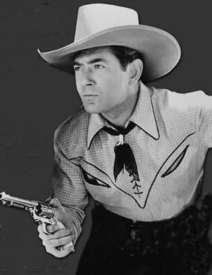 "(September 1, 1904 – November 14, 1974) Johnny Mack Brown was an American college football player and film actor. His good looks and powerful physique saw him portrayed on Wheaties cereal boxes and in 1927, brought an offer for motion picture screen tests that resulted in a long and successful career in Hollywood. He played silent film star Mary Pickford's love interest in her first talkie, ""Coquette"" (1929)."