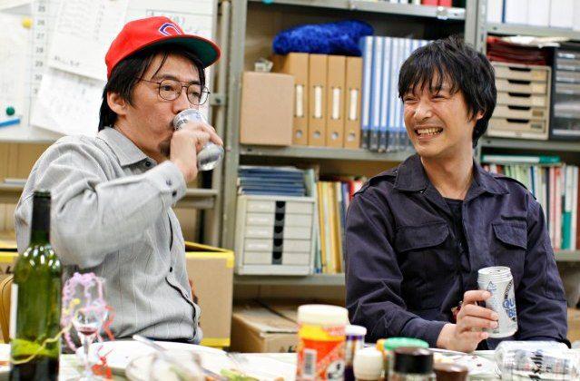 堺雅人&生瀬 in 南極料理人