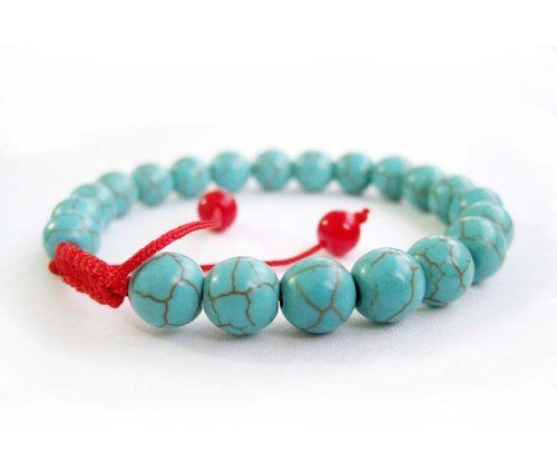 8mm Howlite Turquoisite Beads Tibetan Buddhist Mala Bracelet for Meditation Rosary Ovalbuy. $4.99. Free Jewelry Pouch. Beads Size: 8 mm. Handcrafted by ovalbuy. Adjustable and fit all size of wrist