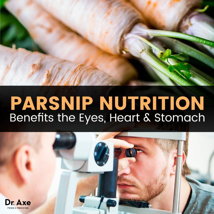 Parsnip Nutrition Benefits the Eyes Heart & Stomach