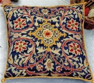 Needlepoint Kit - William Morris Cushion - Glorafilia Needlepoint ...www.atlascraft.co.uk