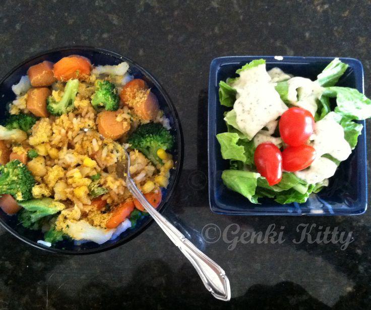 Leftover Vegan Dinner Idea
