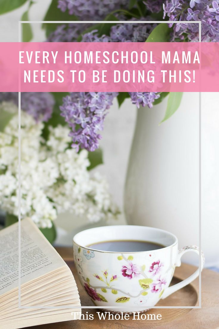 3 Things All Homeschool Mums Need To Be Doing