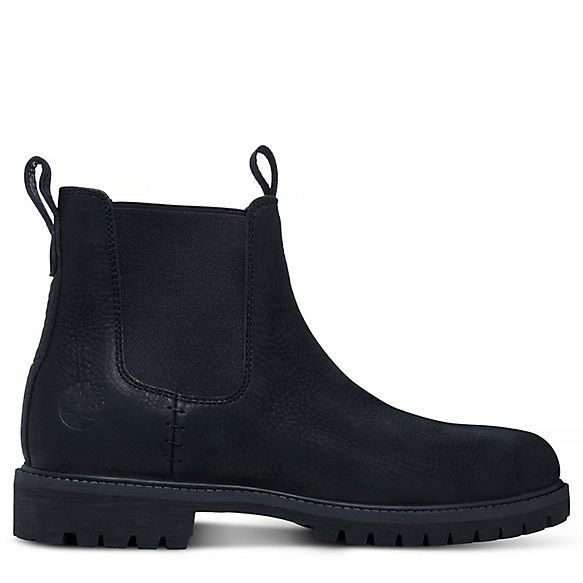 Timberland® Icon Chelsea for Men in Black | Timberland