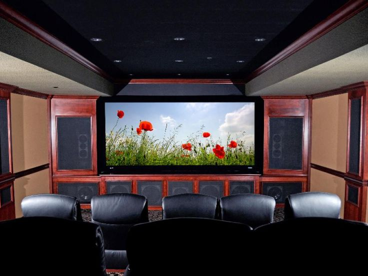 81 best Media Rooms images on Pinterest Movie theater, Home