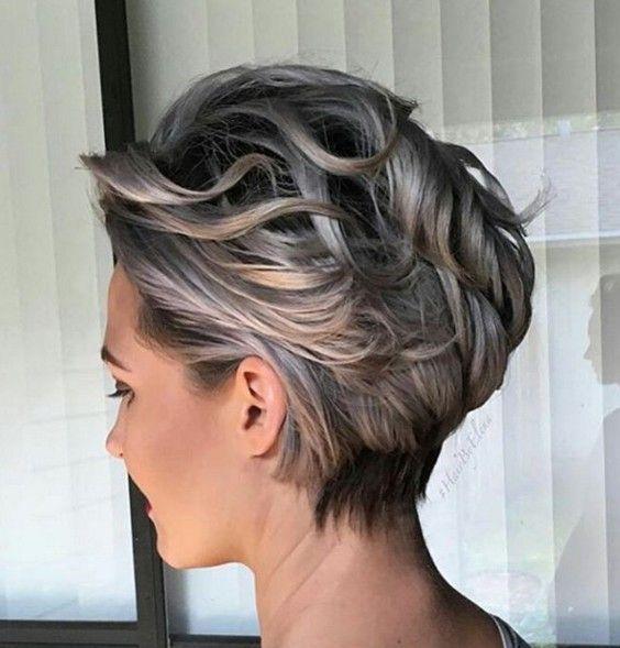 #Stylish #Short #Haircut Ideas 2016
