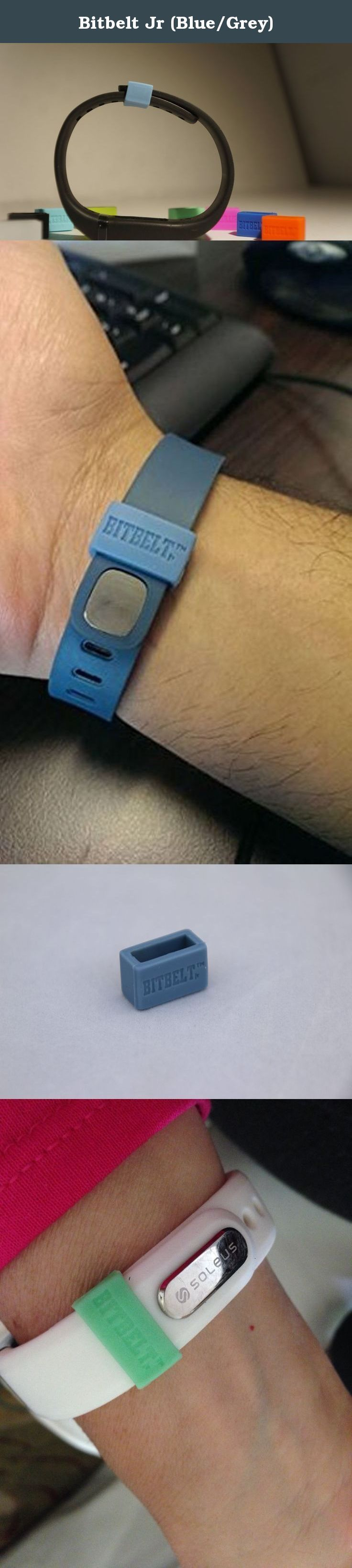 Bitbelt Jr (Blue/Grey). BITBELT JR CREATED TO PROTECT YOUR THINNER WIDTH WRIST WORN FITNESS TRACKER AND CHILD SIZE MAGIC BAND. DONT RELY ON A SMALL PLASTIC CLIP TO SECURE YOUR INVESTMENT TO HEALTH OR YOUR VACATION.WE ARE THE CHEAPEST INSURANCE AVAILABLE. Your bracelet will come unclasped. We are the cheapest insurance available to keep yours from being lost.