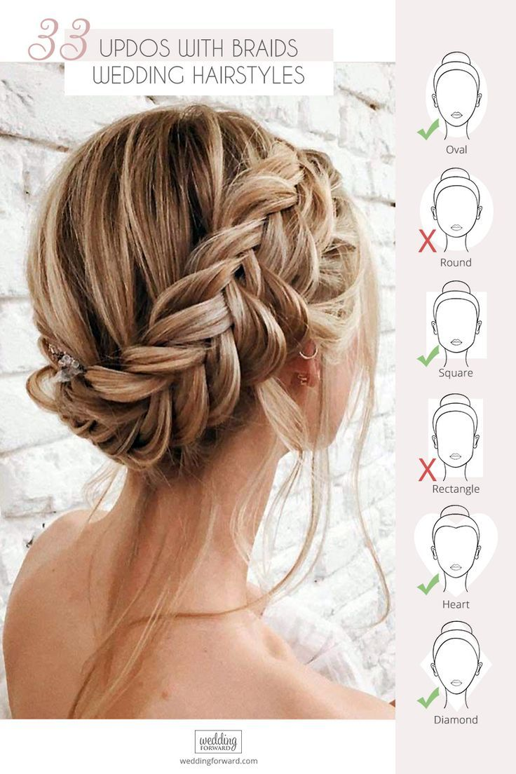 33 Wedding Updos With Braids Wedding Forward Braided Hairstyles Updo Braided Hairstyles Easy Hair Styles
