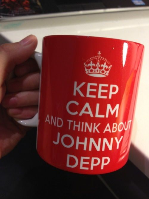 Oh Johnny Depp! I See You Love Coffee, Isn't That Funny. I❤️Coffee I❤️PiratesNamedDepp ❤️️️MuseNetwork  ❤️️MuseNews  Terresa