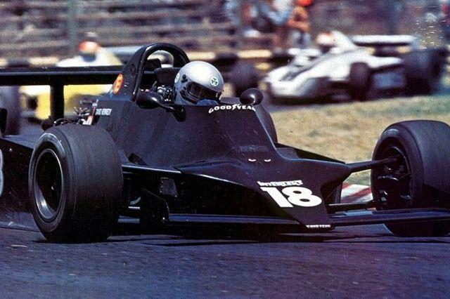 David Kennedy - Shadow F1