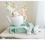 Shabby Chic Baby Shower Tea Party