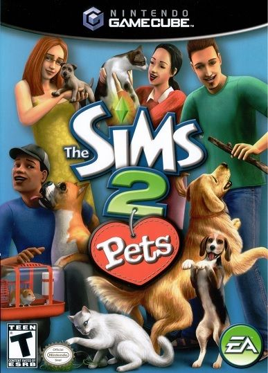 The Sims 2: Pets for GameCube @ www.thegamingwarehouse.com/the-sims-2-pets-for-gamecube-used/