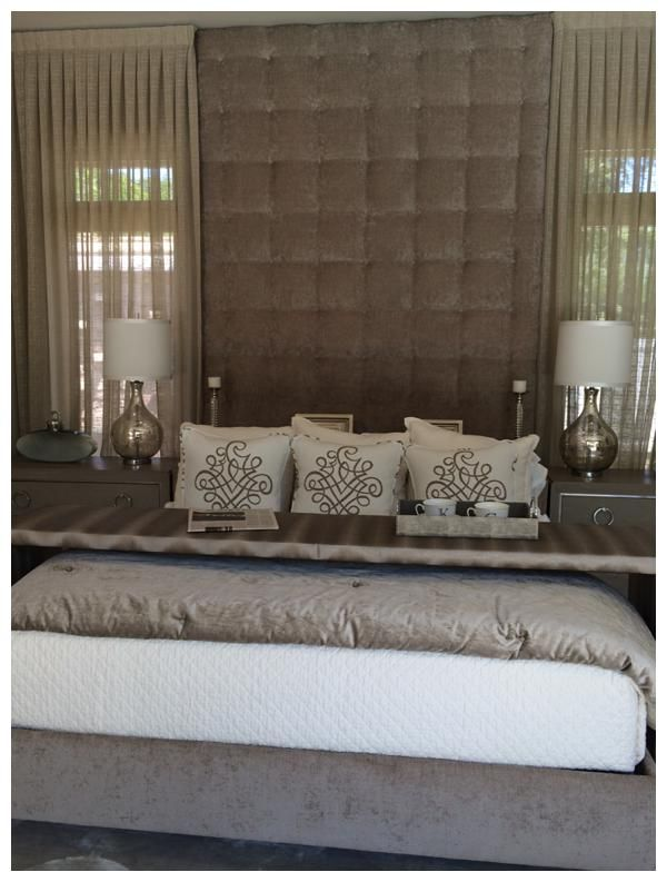 17 best images about the sebc s 2014 new southern home on - Floor to ceiling headboard ...