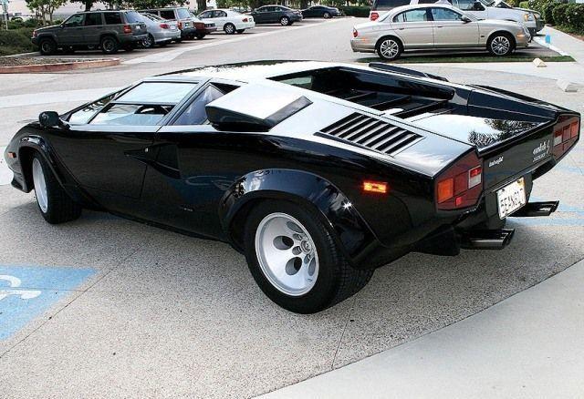 Lamborghini Countach 1985 Lamborghini Countach 5000 S