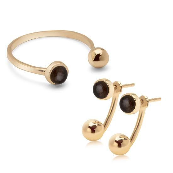 Komplet Walentynkowy Dolce Oro, 995 PLN.  www.YES.pl/55530-komplet-walentynkowy-dolce-oro-ZW-Z-Z14-N00-EN10739-FN10739 #jewellery #buyonline #heart #love #YESforRomance #perfect #shop #freedelivery #Poland #BizuteriaYES