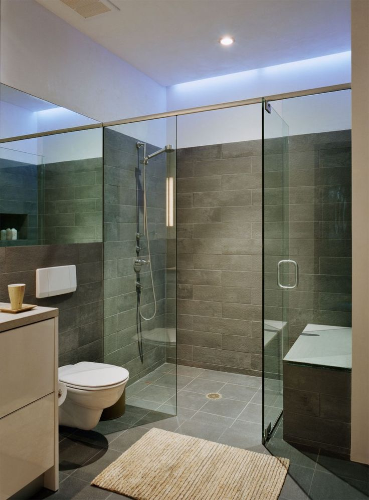 Like the simple glass shower door with no tray