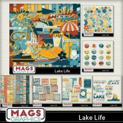 LAKE LIFE Lake-themed scrap kit