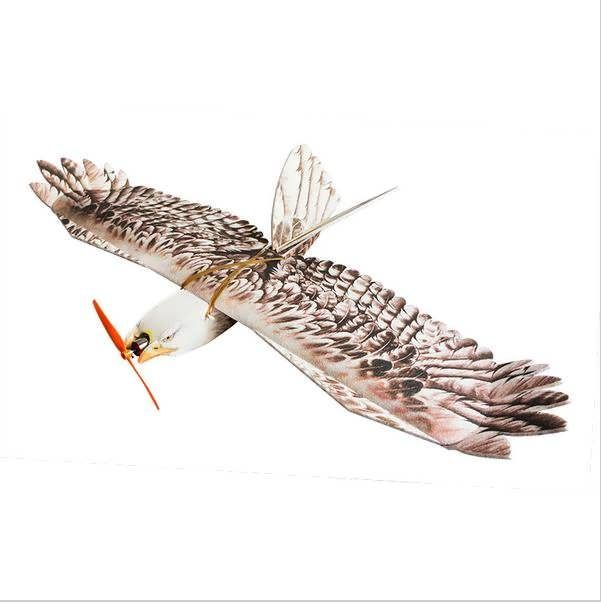 Eagle EPP Mini Slow Flyer 1200mm Wingspan RC Airplane KIT        Soar with the eagles, with our Eagle EPP Slow Flyer. This fun, all EPP foam airframe is a real head turner. This sport scale model of a Eagle, has the outline that will fool most, including local wild life. The large...
