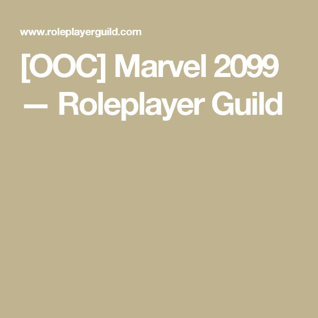[OOC] Marvel 2099 — Roleplayer Guild