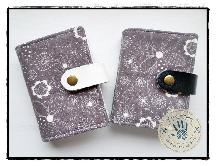 Spring card holder by ManoFactured on Etsy