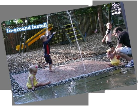 DIY Splash Pad For Our New Yard!!!! Backyard ...