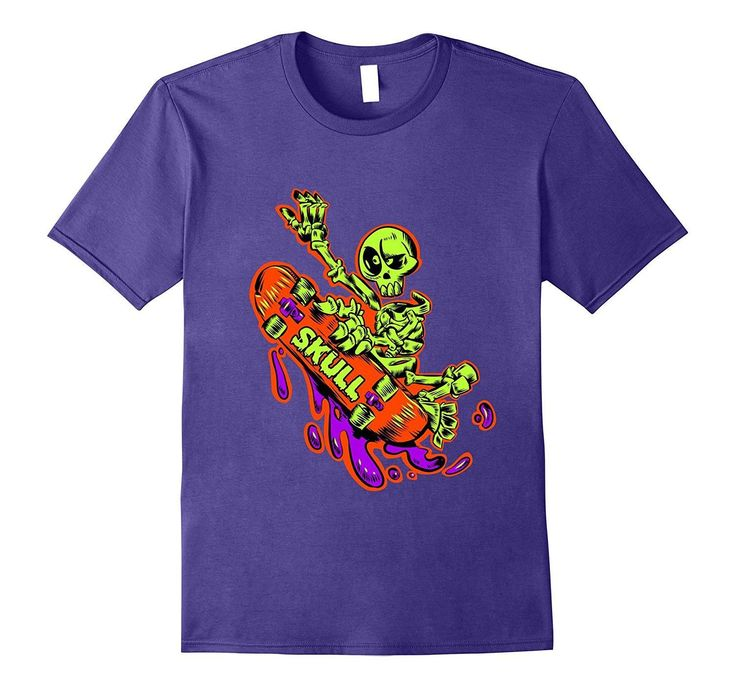 Best Skateboarding T-Shirts Skeleton Skateboard Tee Shirt #skateboardingoutfits #skateboardingshirt