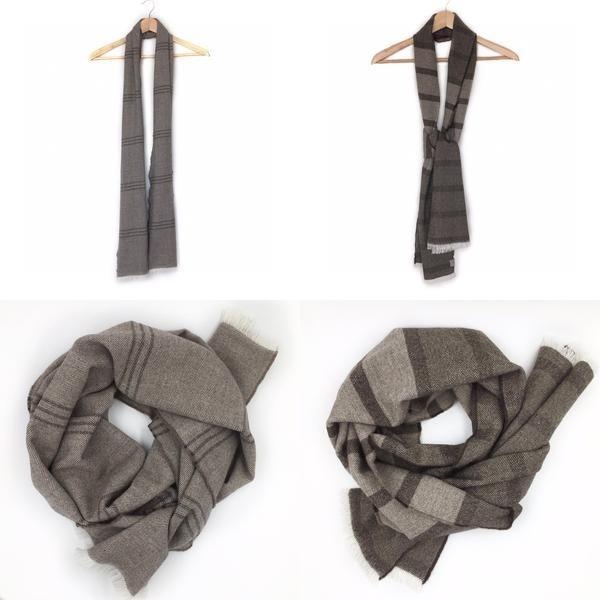 modern and luxury NZ merino scarf, JSdesign