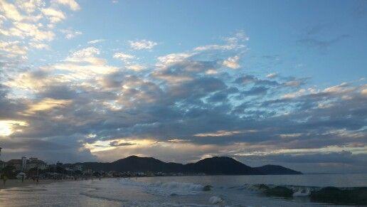 Atardecer Praia Dos Ingleses