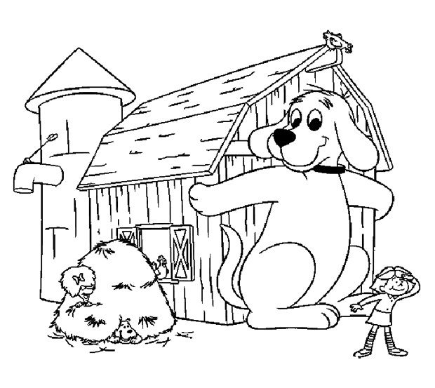 clifford coloring pages children - photo#25