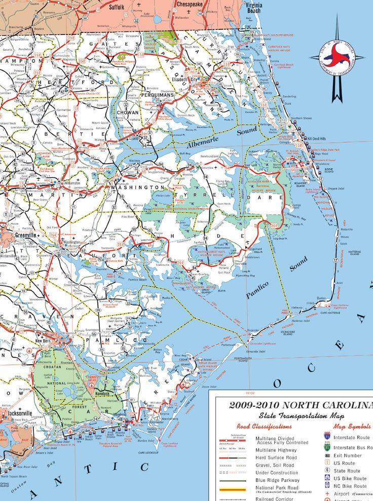 17 Ideas About North Carolina Beaches Map On Pinterest