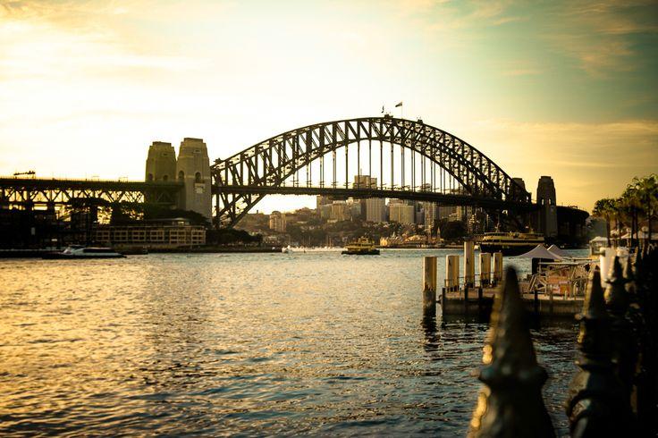 Perfect image of the Sydney Harbour Bridge #sydneyharbour#love#picoftheday