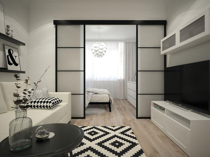 Новыйl Гостиная и спальня в одной комнате (235+фото): используем пространство с пользой и удобством