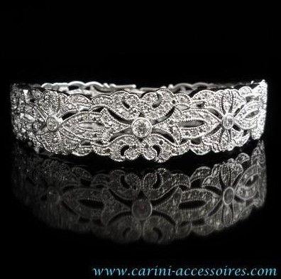 """Bracelet de mariage """"Victoria"""" €46"""