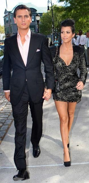 Scott Disck & Kourtney Kardashian